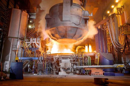 بلبرینگ در صنعت فولاد